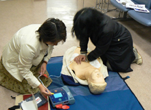 救急蘇生の勉強会